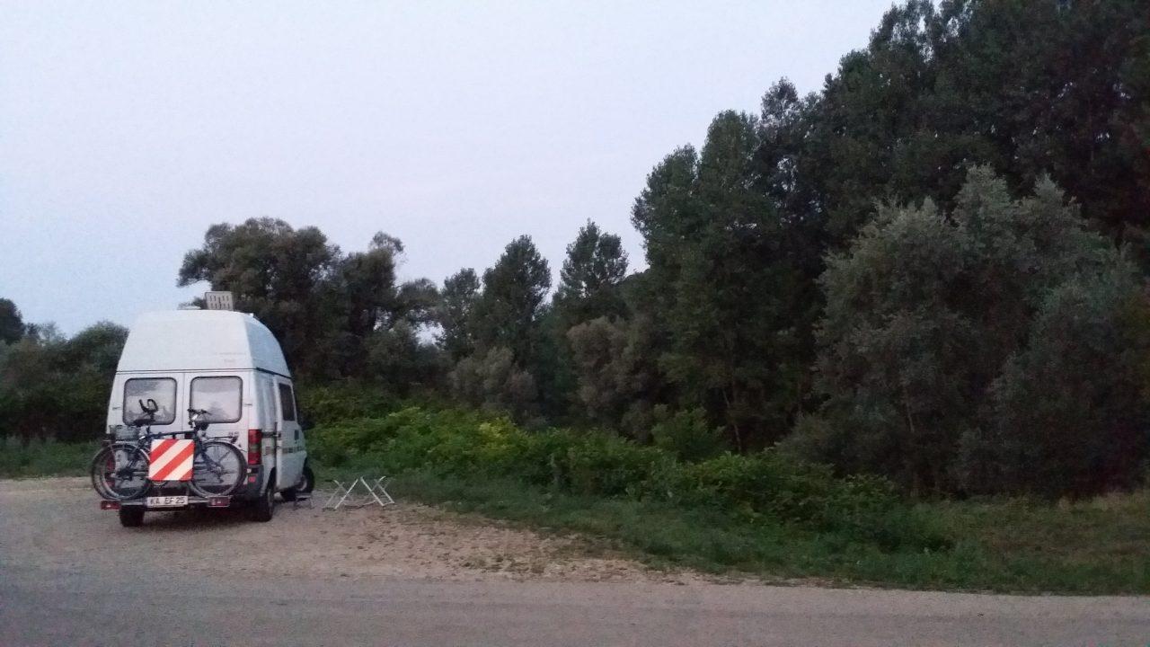 Wohnmobil Übernachtungsplatz bei Quingey