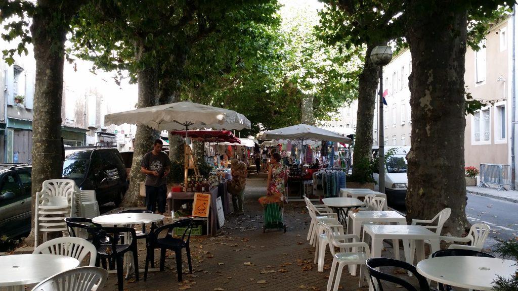 Markt in Florac