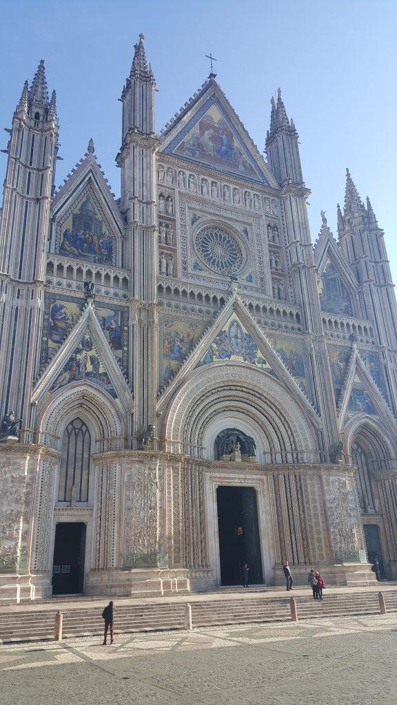 Aussenansicht Dom Orvieto, Toskana Italien