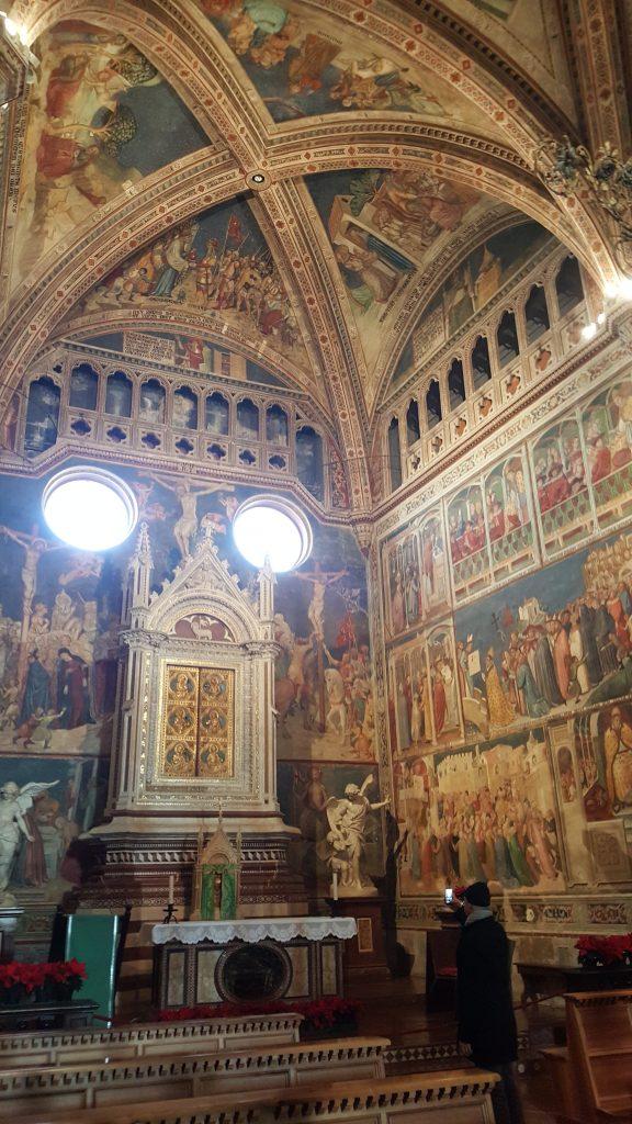 Altar im Dom von Orvieto, Toskana Italien