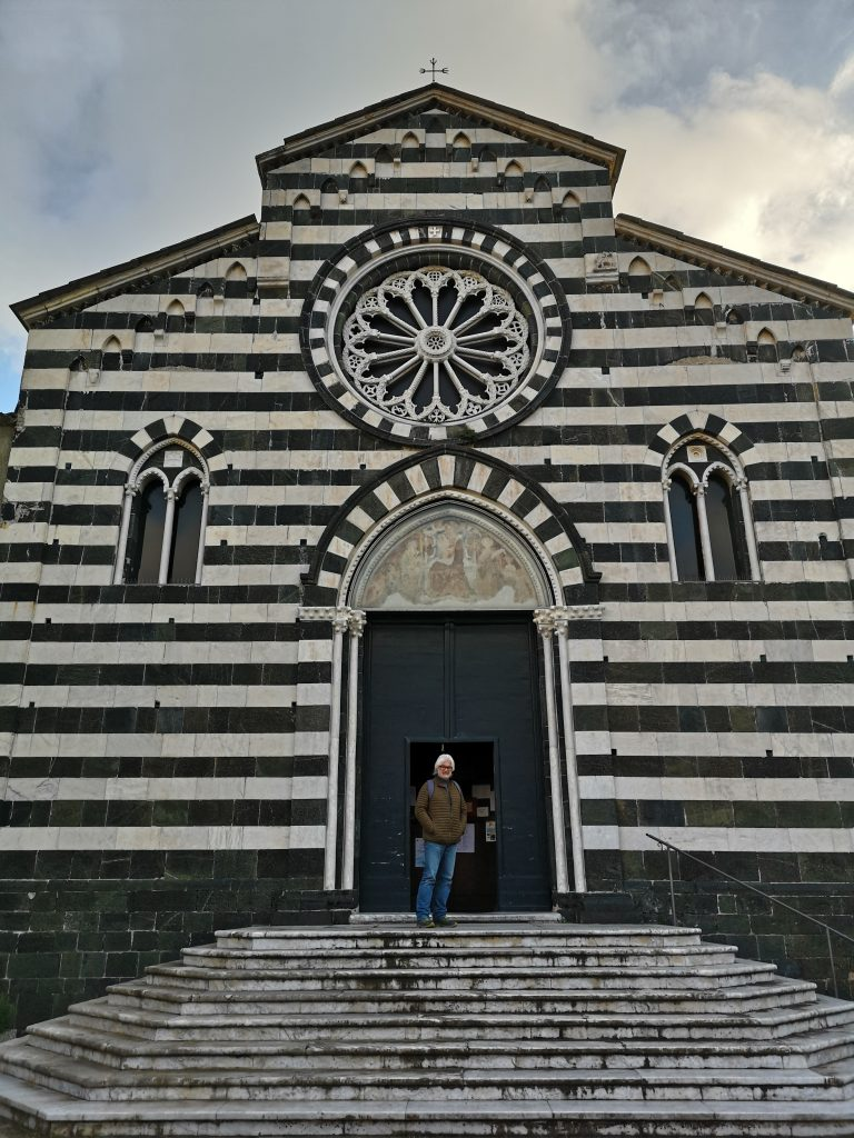 Kirche in Levanto Italien
