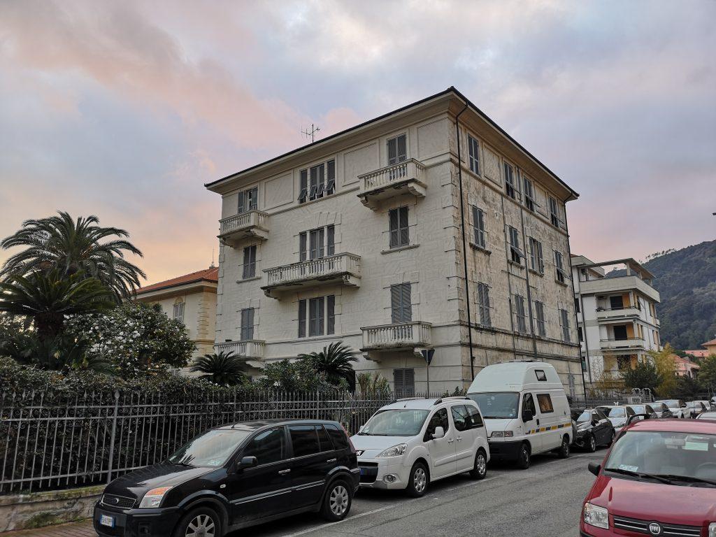 Übernachtungsplatz in Sestri Levante Italien