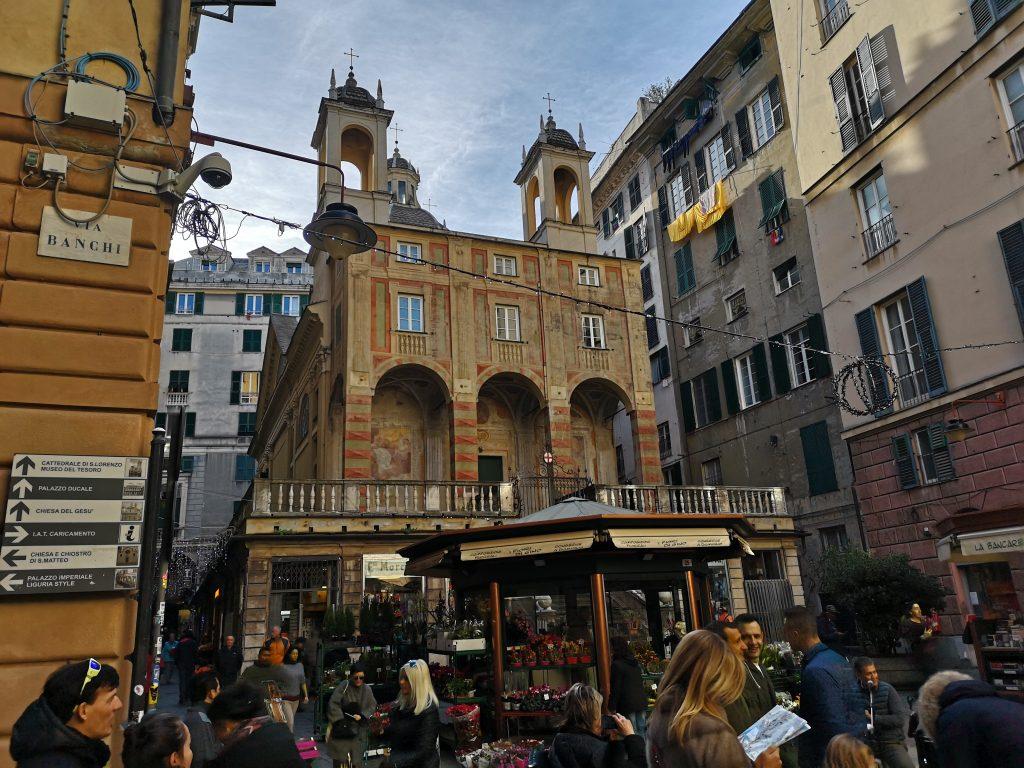Kirche in der Altstadt von Genua Italien
