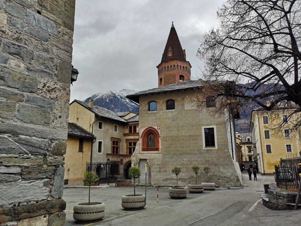 Kirche in Aosta Italien