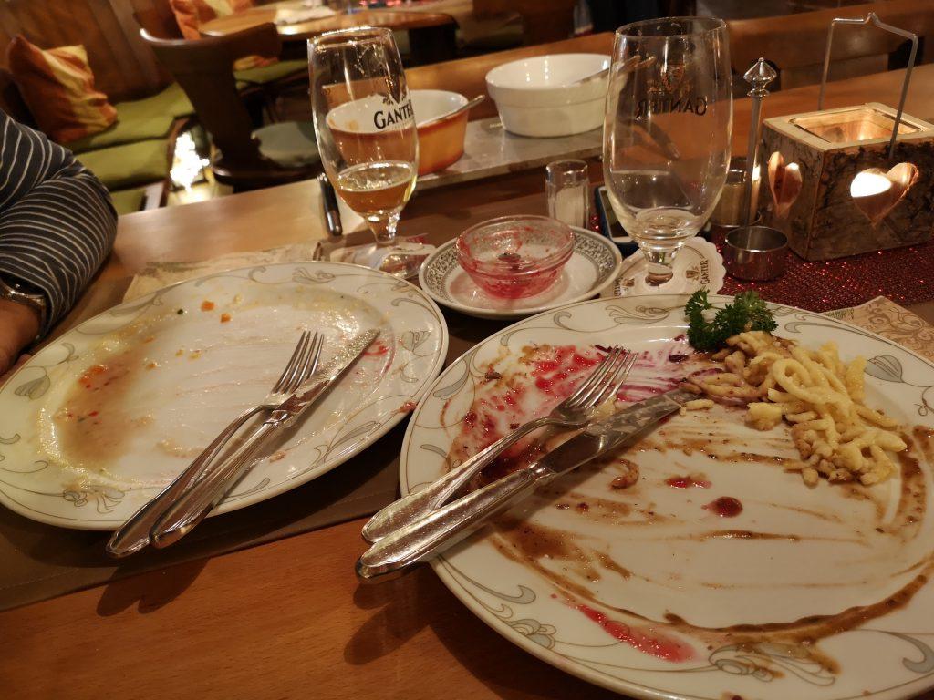 Es hat geschmeckt- zurück in der Heimat Staufen im Breisgau