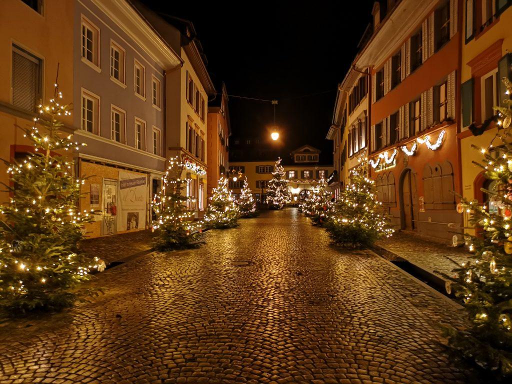 Weihnachtsstimmung in Staufen im Breisgau