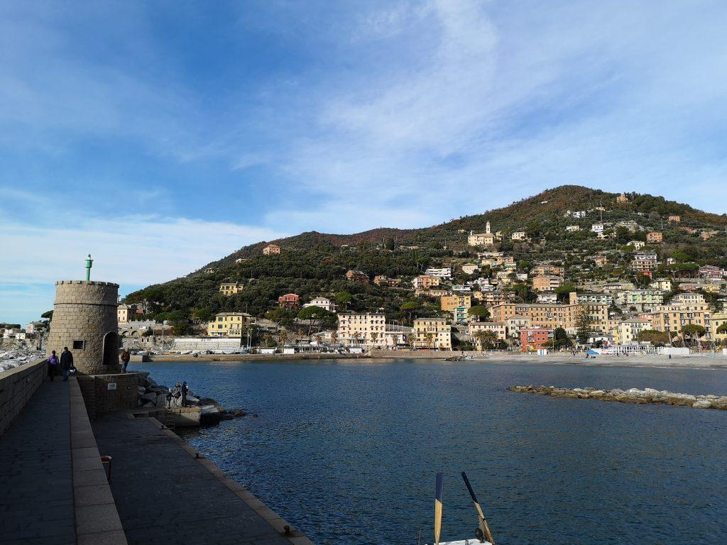 Hafenpromenade in Recco
