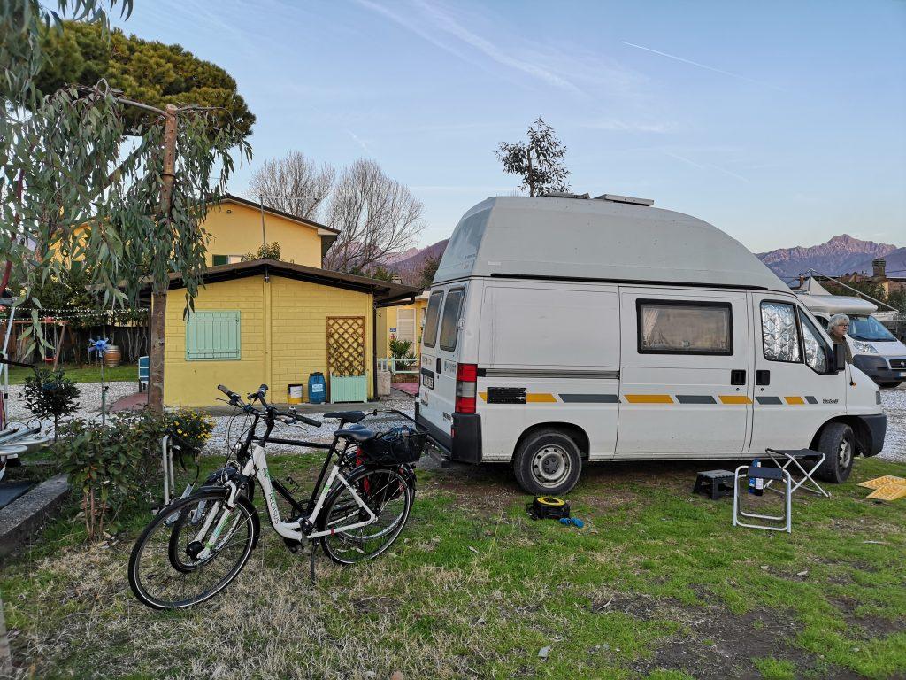 Campingplatz in Massa- Toskana