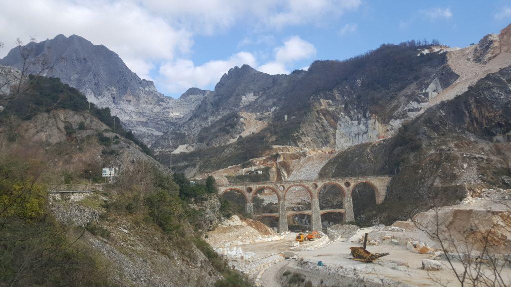Steinbruch in Carrara Italien