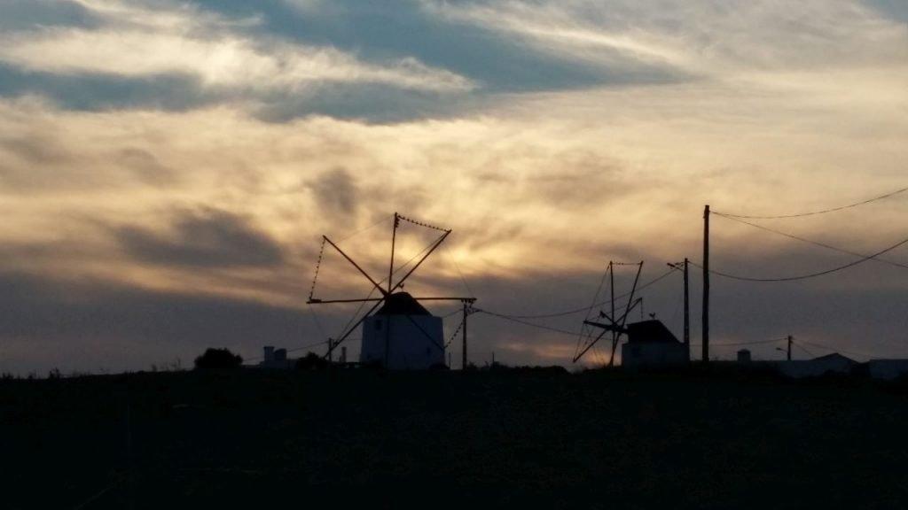 Windmühlen bei Obidos