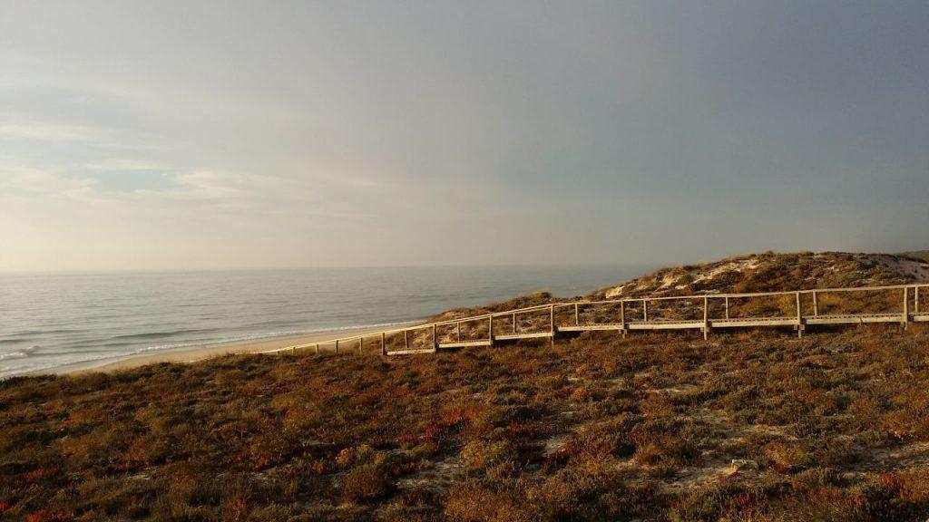 Hochzeitstag am Meer in Portugal