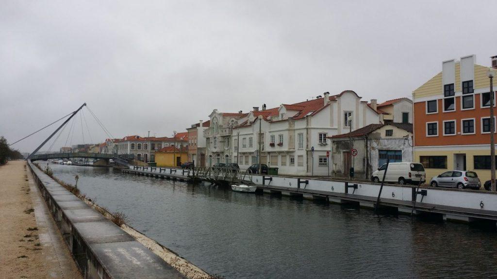 Lagune von Aveiro