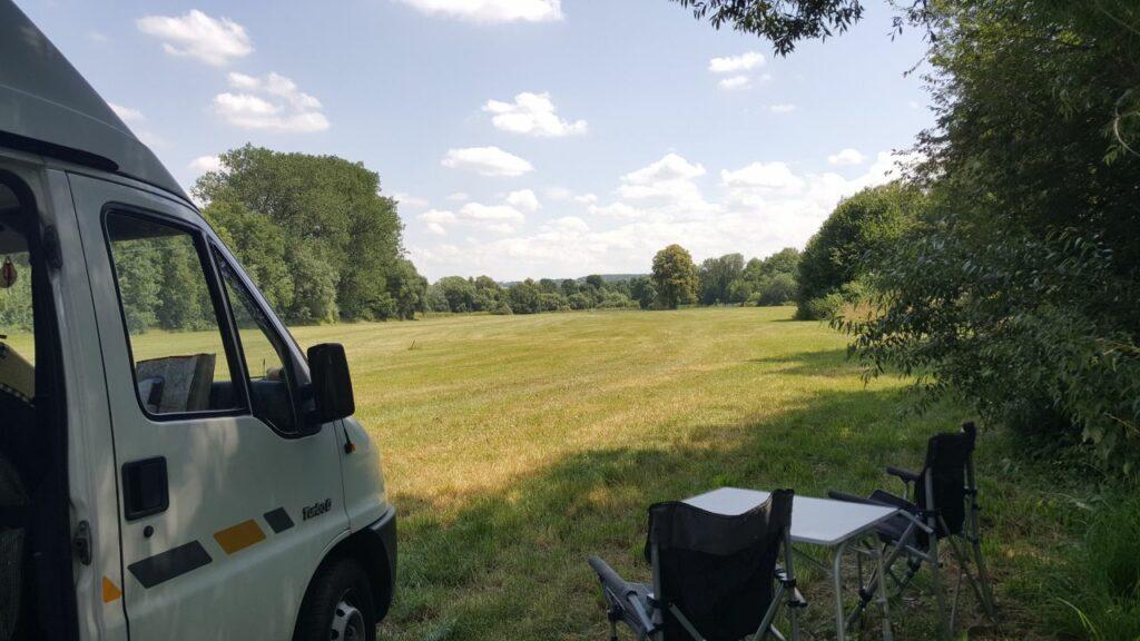 Picknickplatz an der Tauber