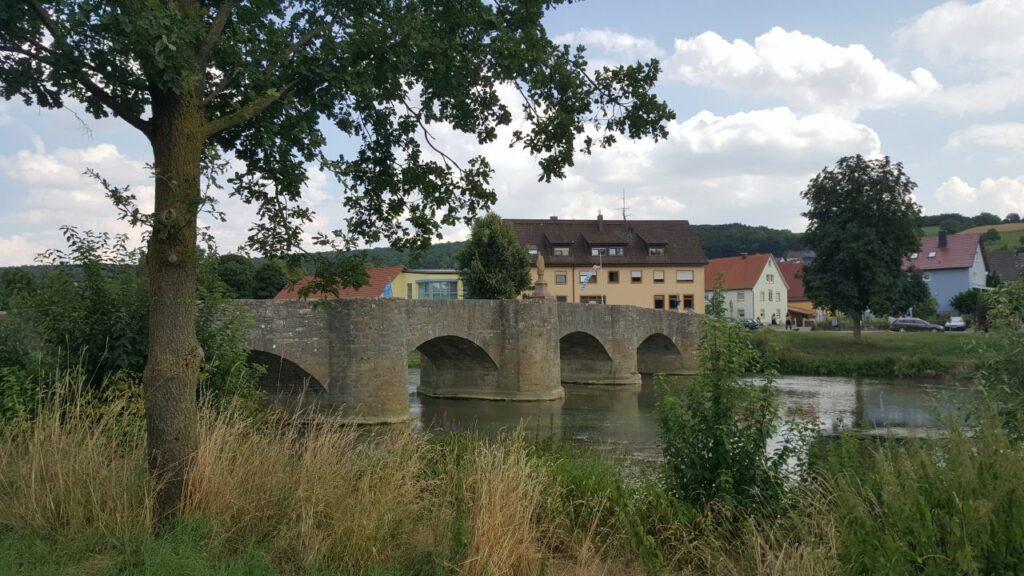 Tauberbrücke nach einem Entwurf von Baltasar Neumann