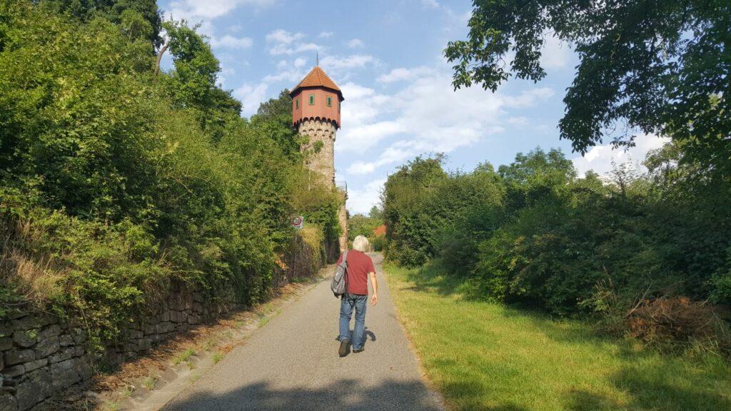 Weg zur Gamburg