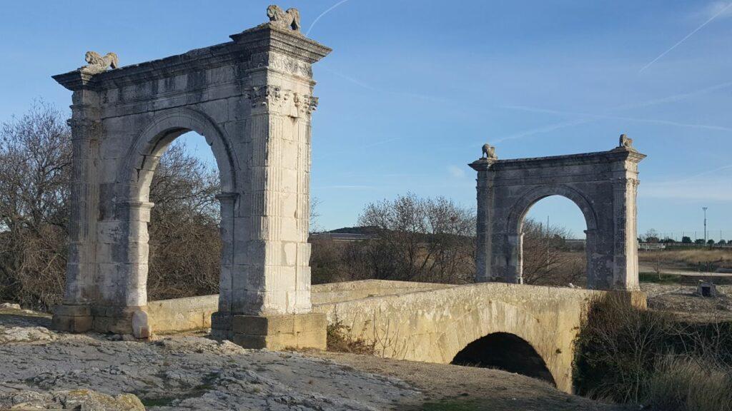 Saint-Chamas Pont Flavien