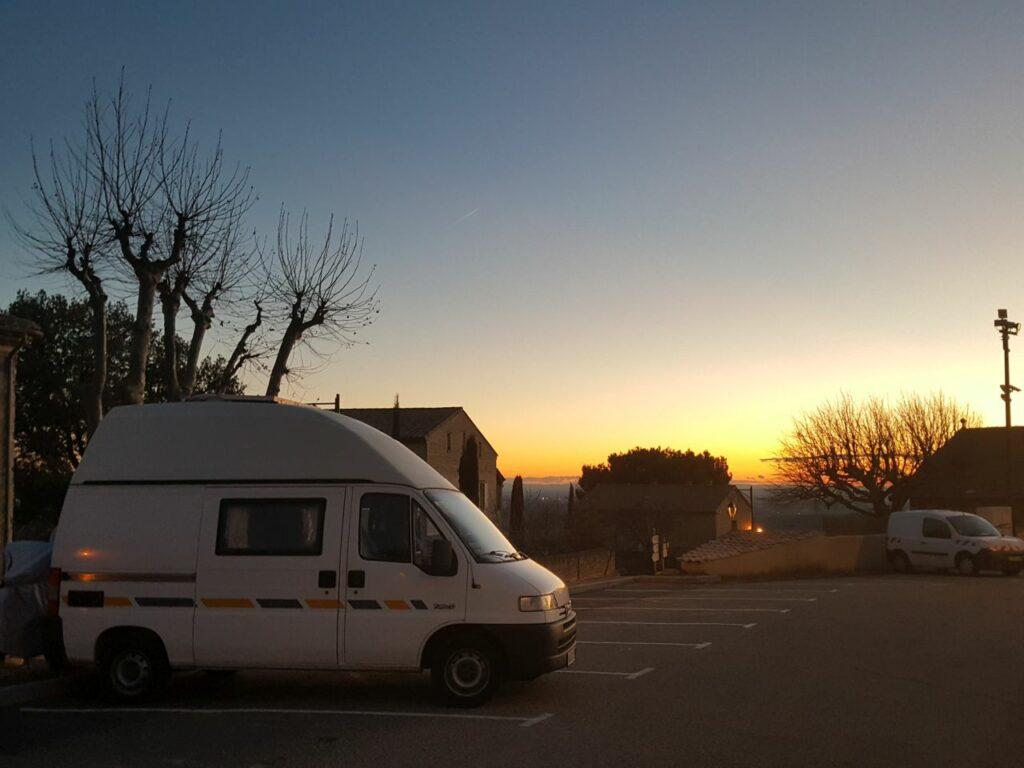 Abendstimmung in Le Barroux