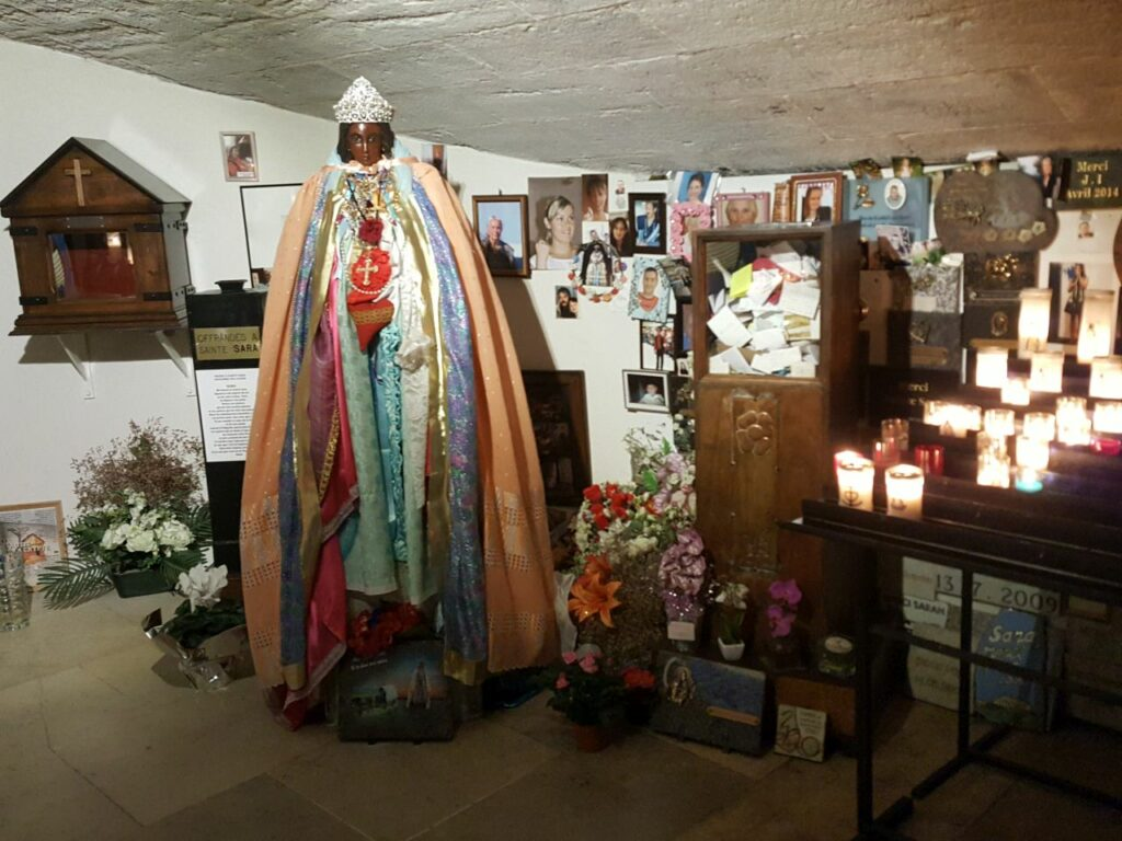 Schwarze Madonna in Saint-Marie-de-la-Mer