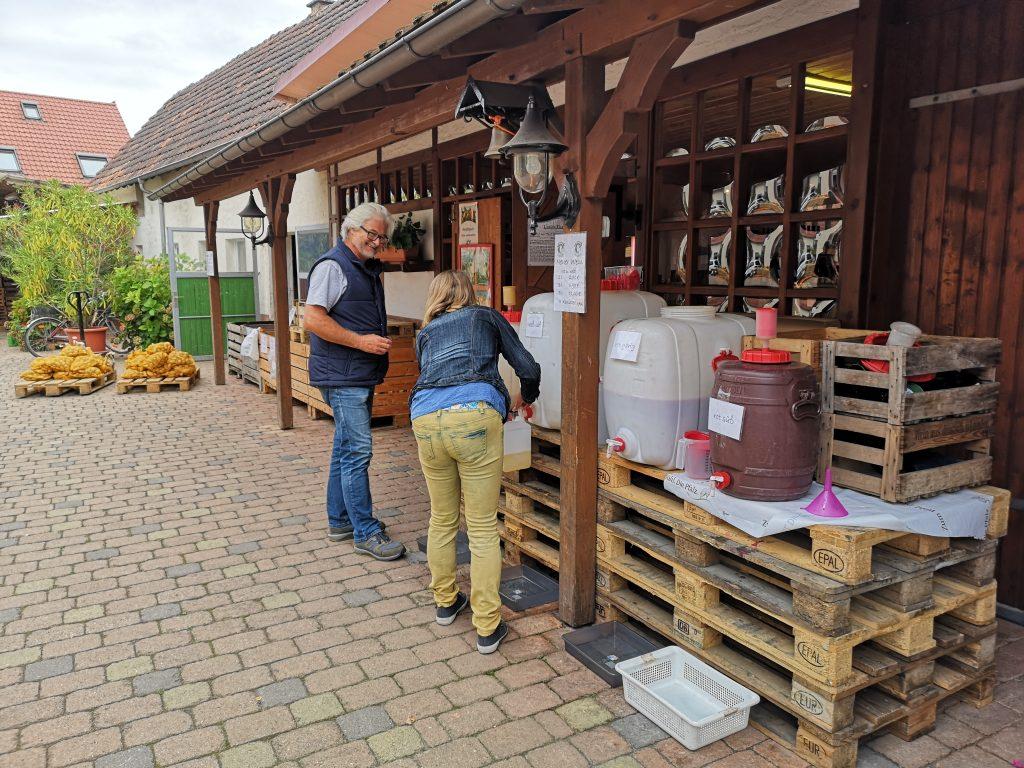Gemüse und Fleisch einkaufen direkt beim Erzeuger in der Pfalz