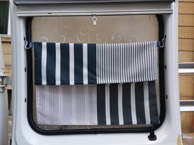 Wäschebeutel im Van